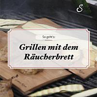 Räucherbretter 2er-Set Kirschholz