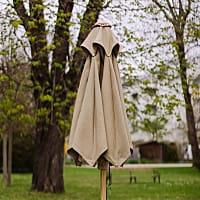 Set: Salzburger Sonnenschirm mit passenden Schirmständer
