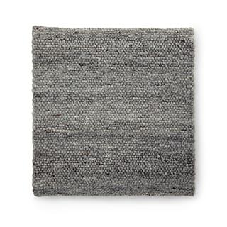 Schafwoll-Sitzauflage grau