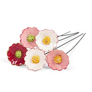 Gartenstecker Gänseblümchen 5er-Set